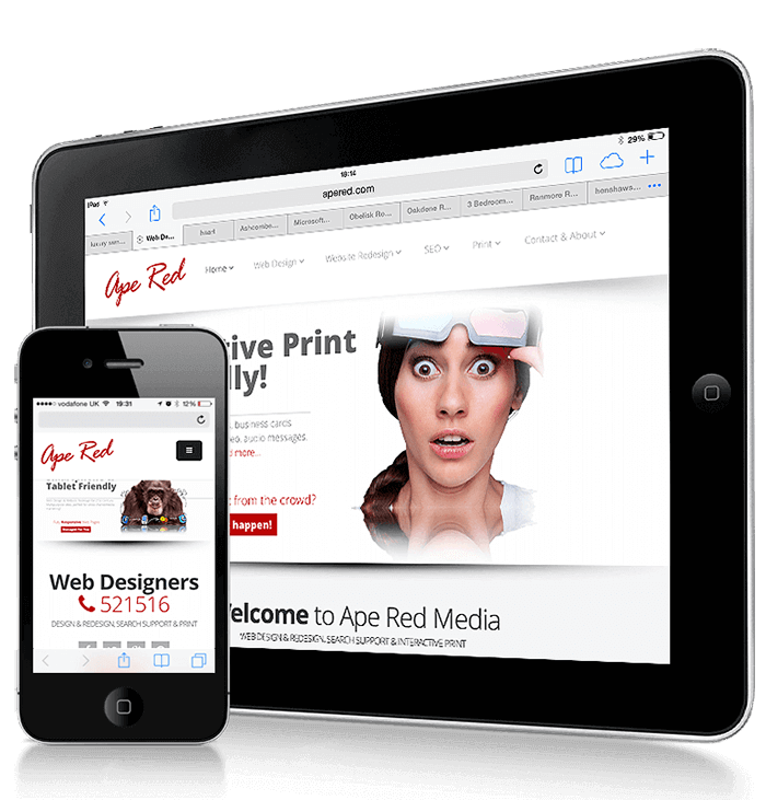 responsive web design for tablets and smartphones