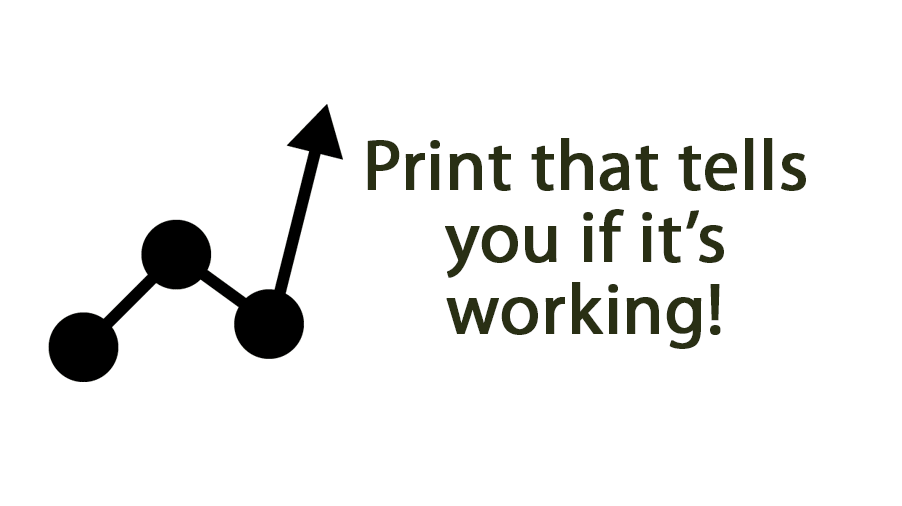 Print that tells you if it's working