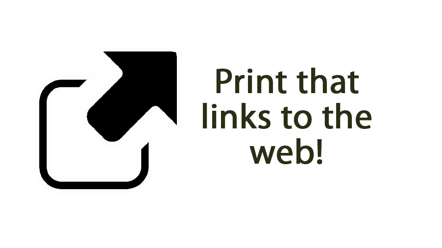 Print that links to the web