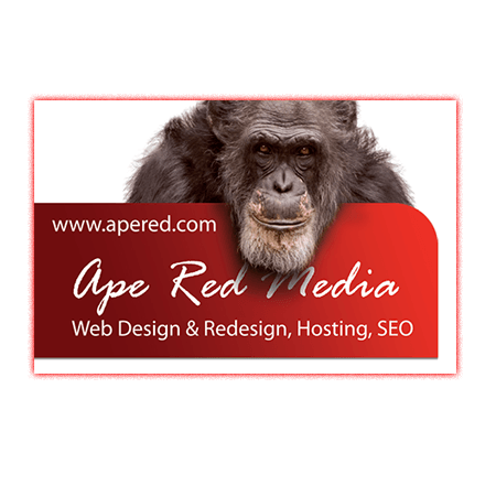 Ape Red Media Business Card